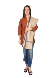 Ladies Shawls  Seal Brown