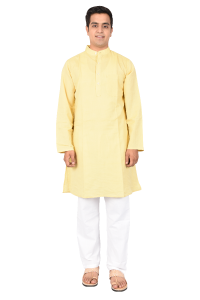 FULL KURTA Yellow