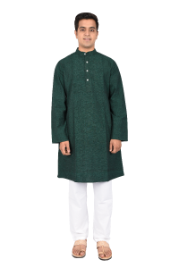 FULL KURTA Medium Jungle Green
