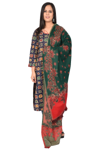 Ladies shawls Red & Green