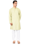 Full Kurta  Olive Green