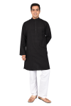 Full Kurta  Black